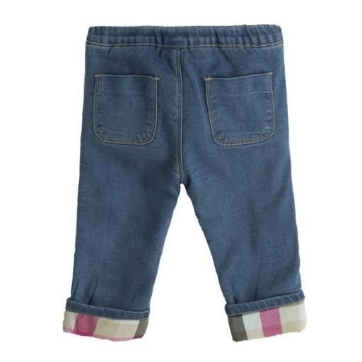 Pantalón vaquero acolchado para niña [1]