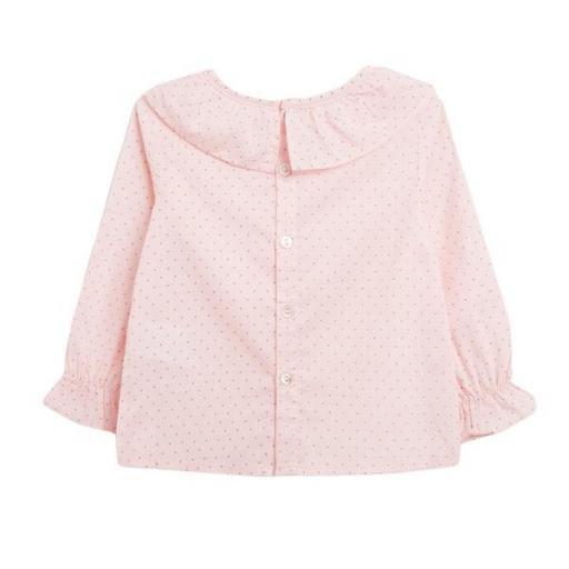 Blusa rosa con puntitos negros [1]