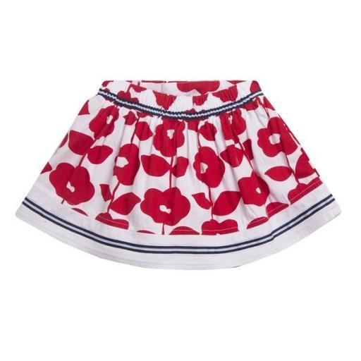 Falda flores rojas [1]