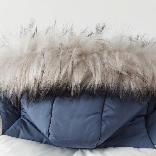 Abrigo acolchado para niño tricolor [3]