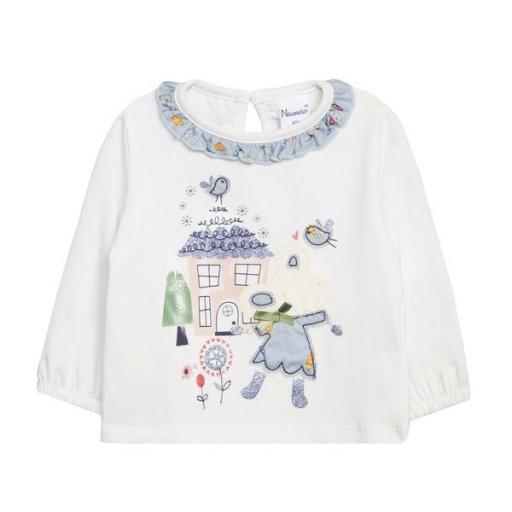 Camiseta de niña Sweet Home