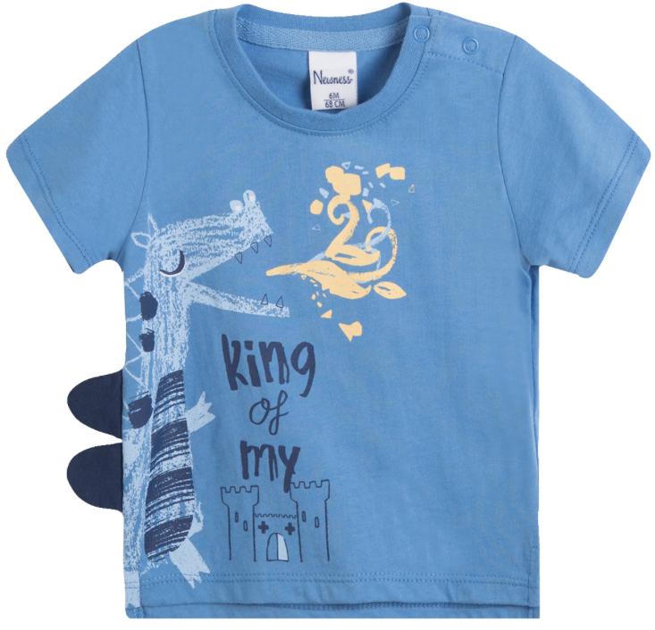 Camiseta de niño King of my castle