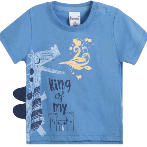 Camiseta de niño King of my castle [0]