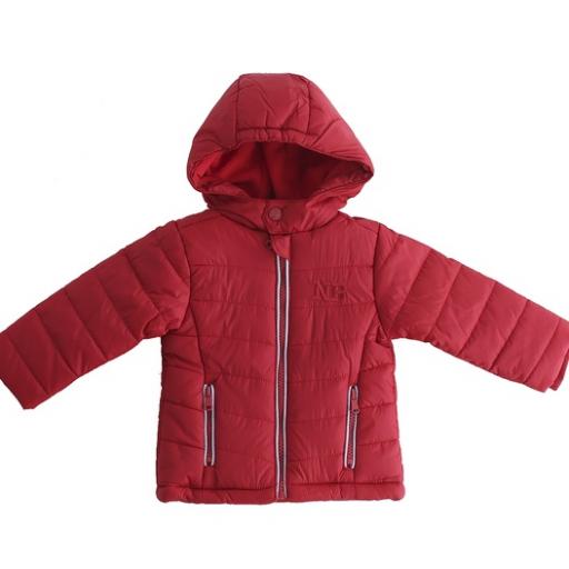 Abrigo para niño en rojo NB