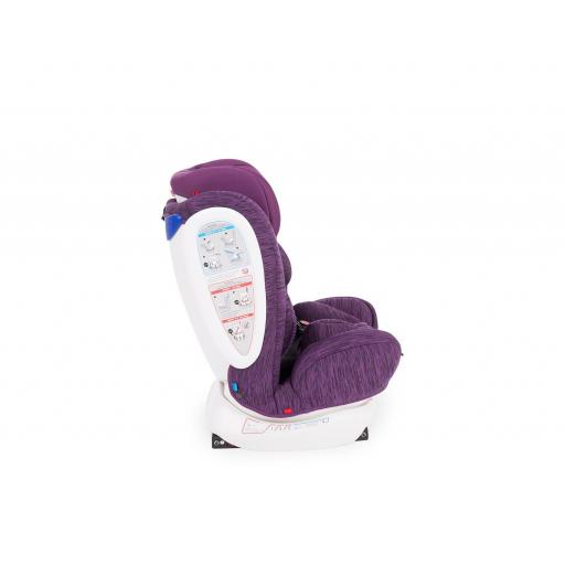 Silla de coche 4 Fix 0-1-2-3 (0-36 kg) Purple [3]
