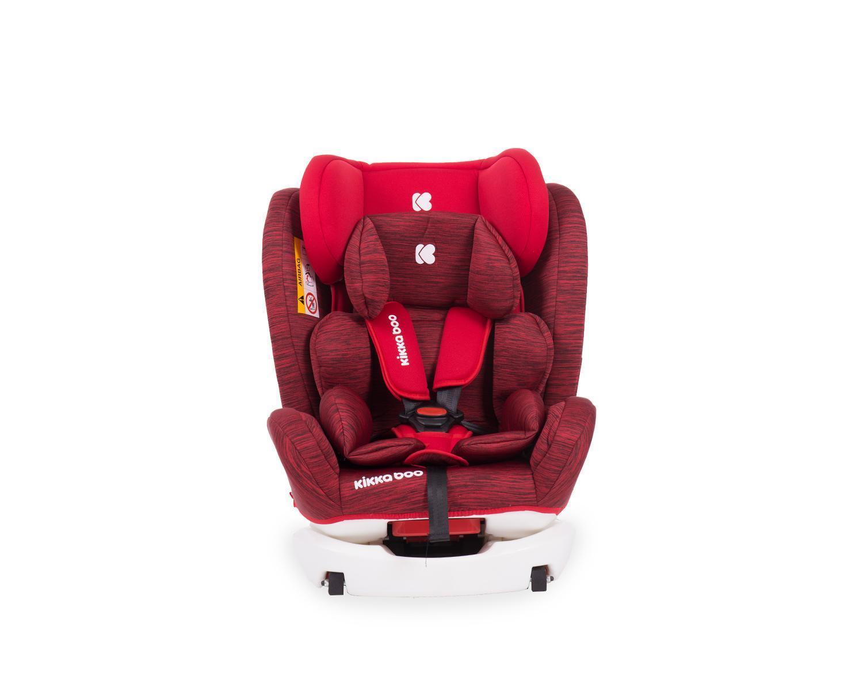 Silla de coche 4 Fix 0-1-2-3 (0-36 kg) Red