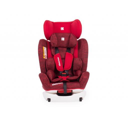 Silla de coche 4 Fix 0-1-2-3 (0-36 kg) Red [1]