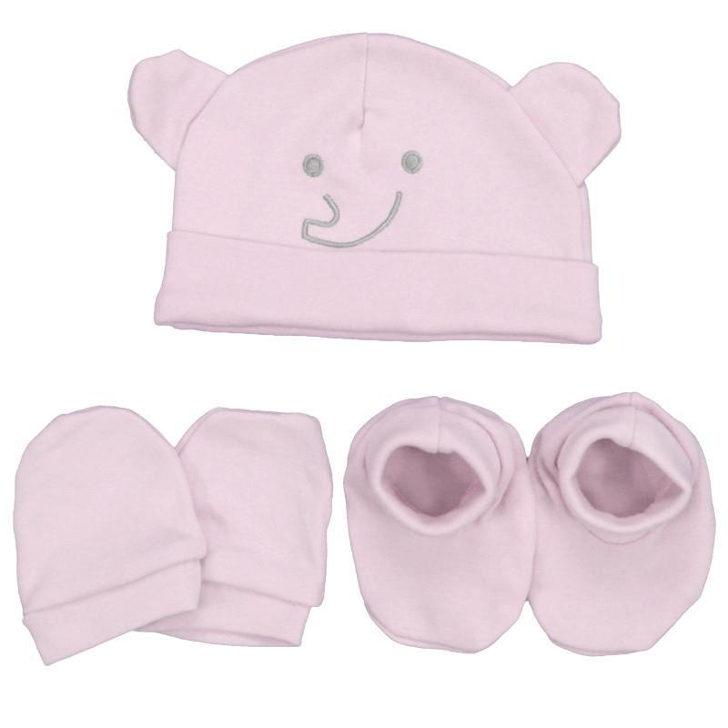 Juego 3 piezas en rosa Elephant