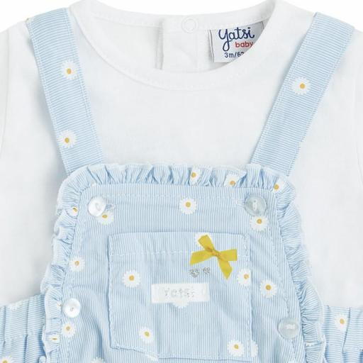 Conjunto ranita con camiseta para niña Daisy [1]