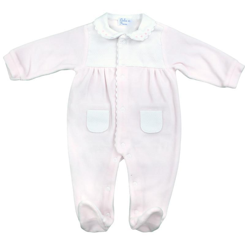 Pijama terciopelo premium rosa
