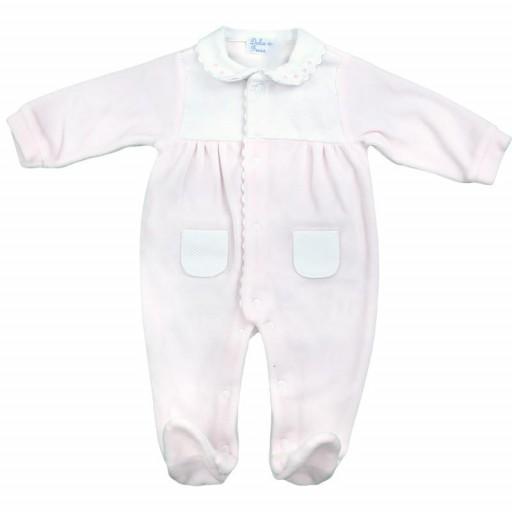 Pijama terciopelo premium rosa [0]