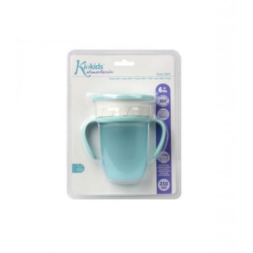 Vaso antiderrame Step 3 CON asas en azul [2]