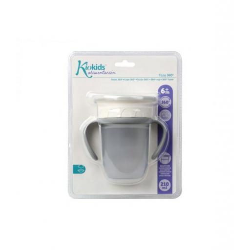 Vaso antiderrame Step 3 CON asas en gris [3]