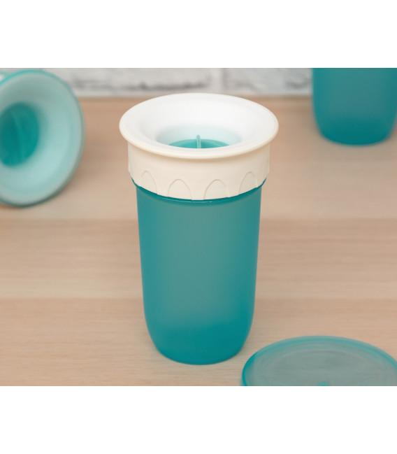 Vaso antiderrame Step 3 SIN asas en azul