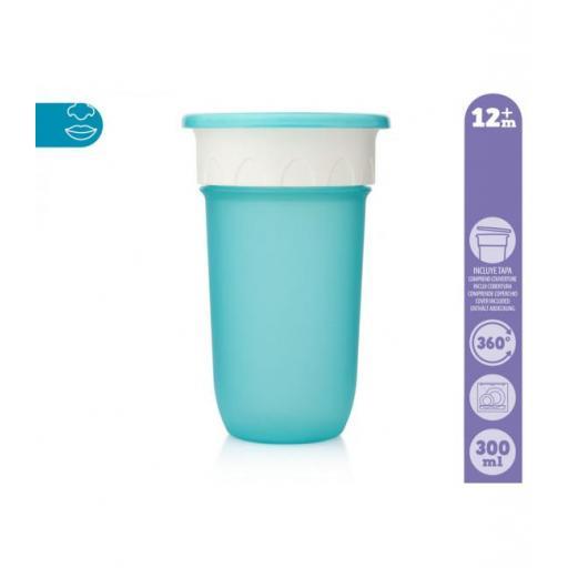 Vaso antiderrame Step 3 SIN asas en azul [1]