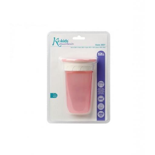 Vaso antiderrame Step 3 SIN asas en rosa [3]