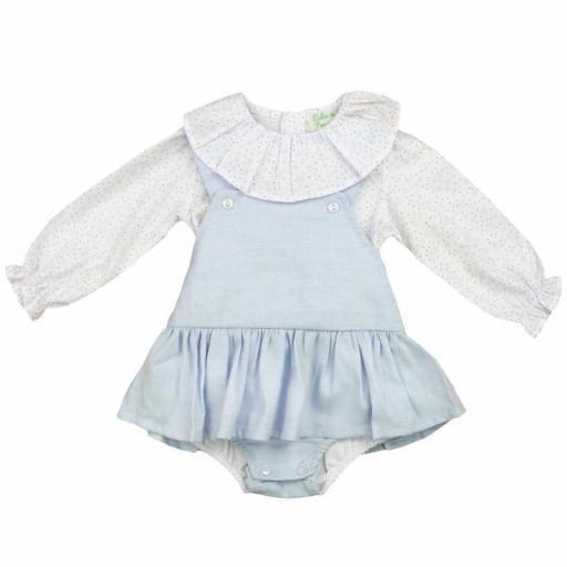 Vestido de niña 2 piezas Estrellitas