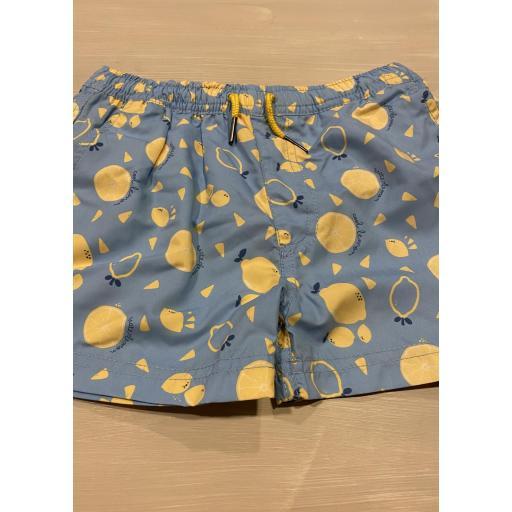 Boxer tela limones