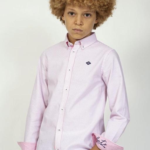 Camisa Oxford rayas [0]