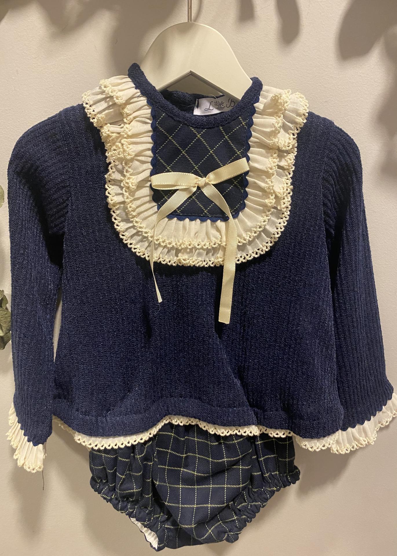 Conjunto suéter y pololo
