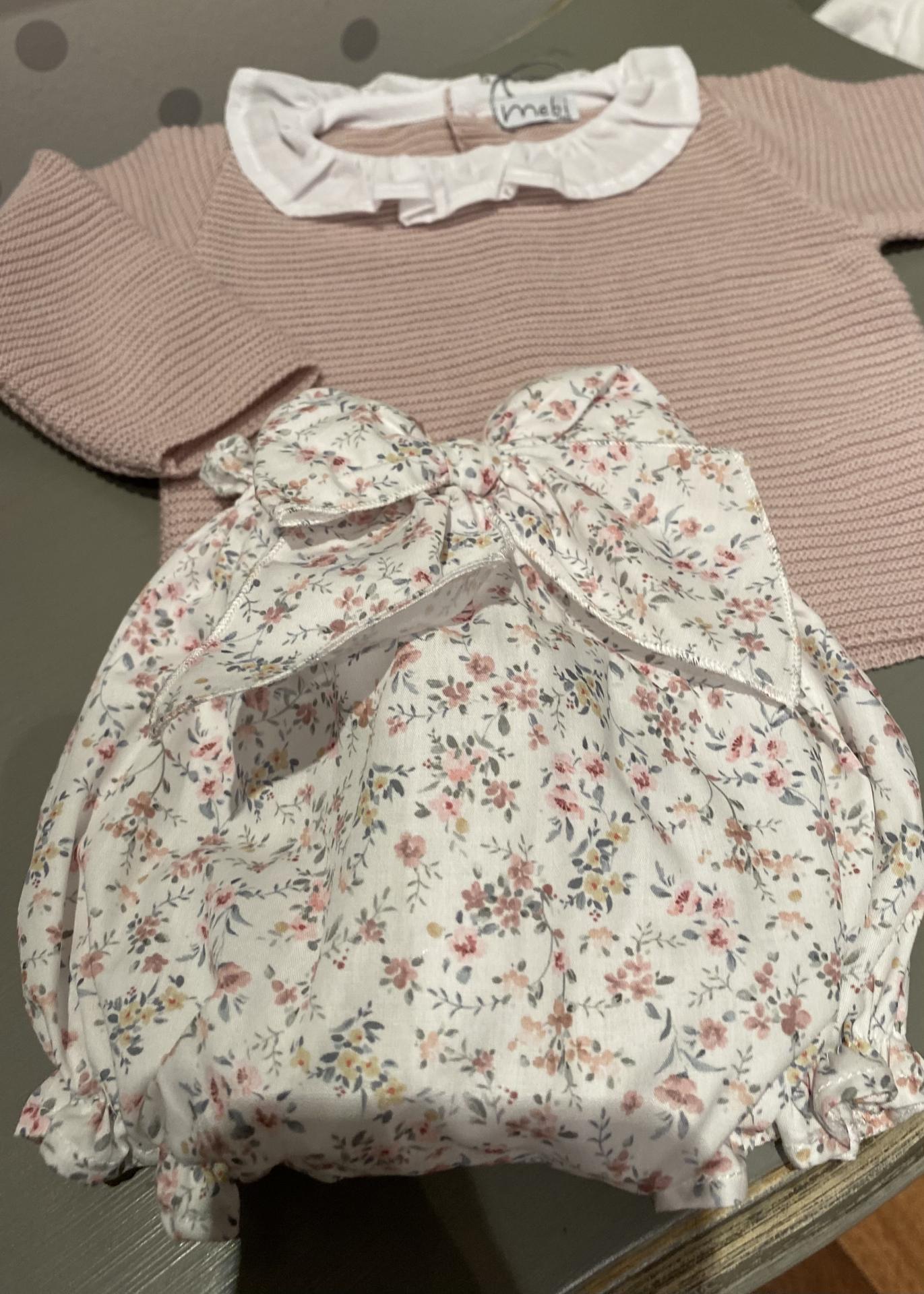 Conjunto de bragota y jersey