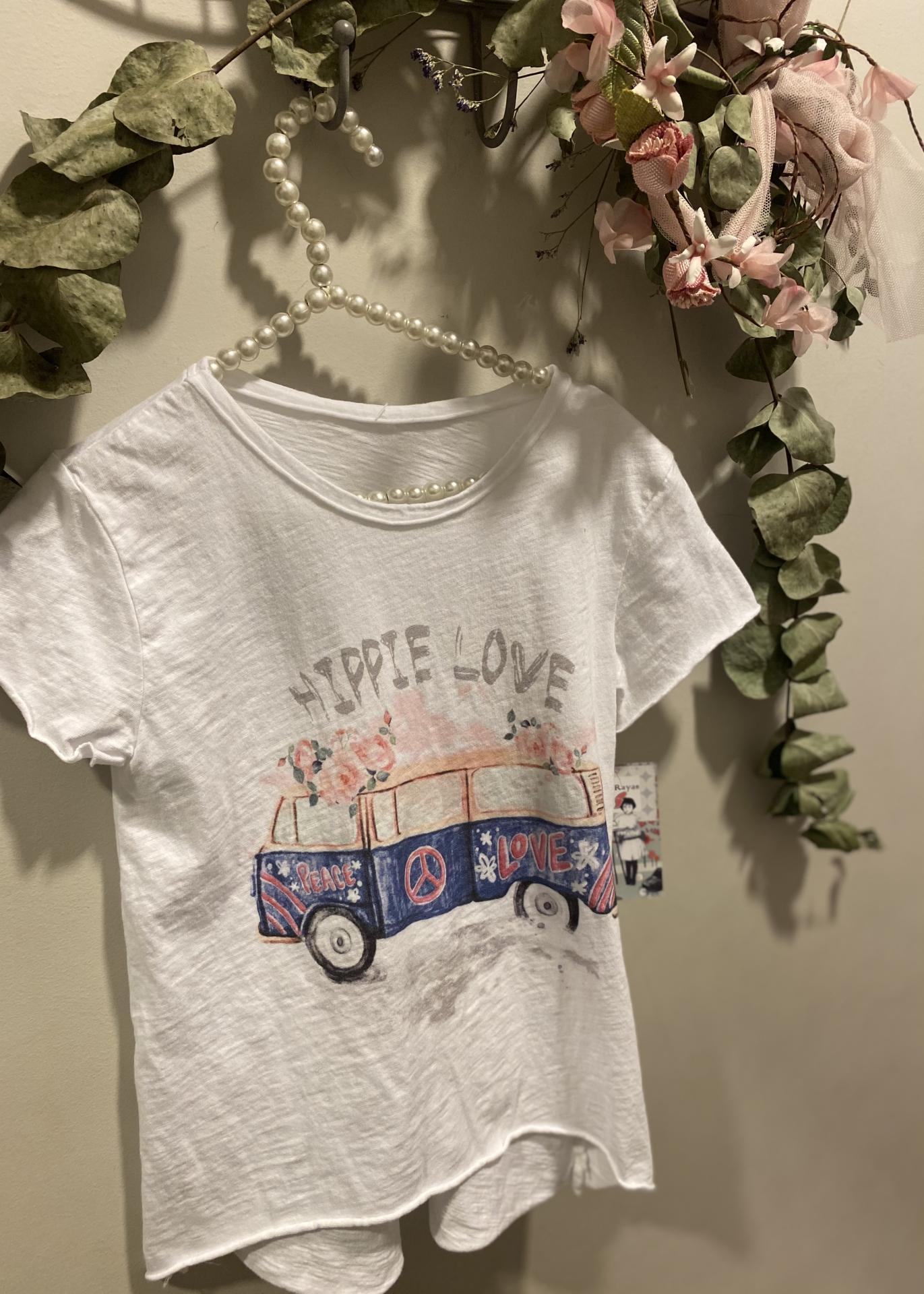 Camiseta hippie love