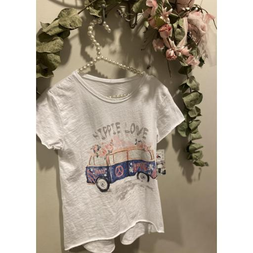 Camiseta hippie love