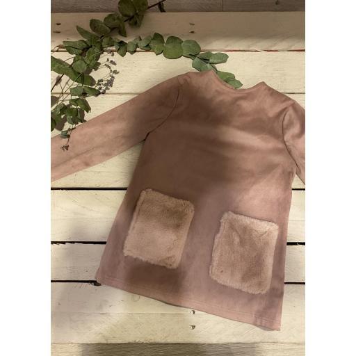 Jersey antelina rosa