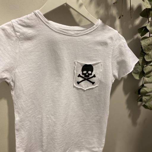 Camiseta unisex calavera