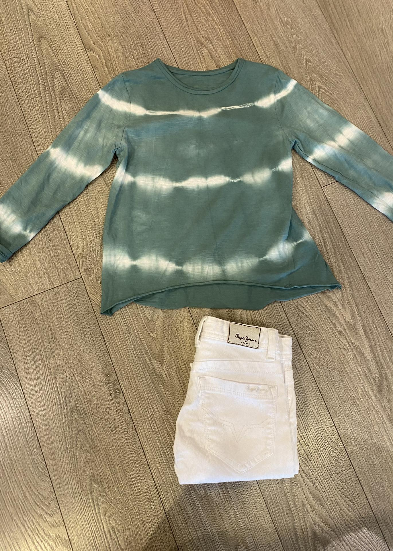 Camiseta verde mint