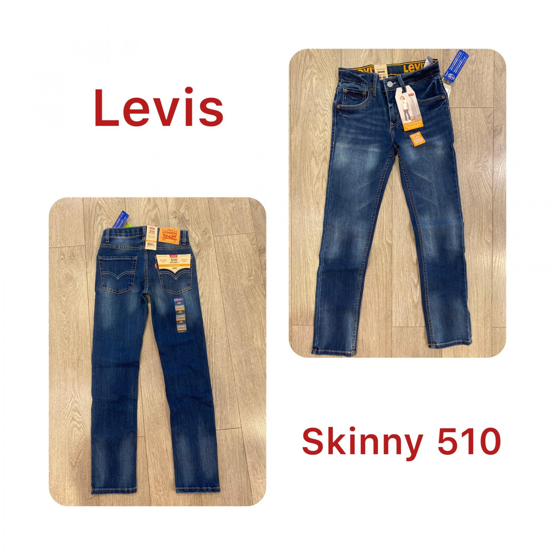 Vaquero Levis skinny 510 chico