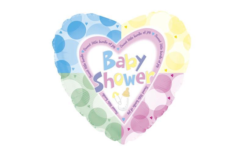 GLOBO CORAZON BABY SHOWER