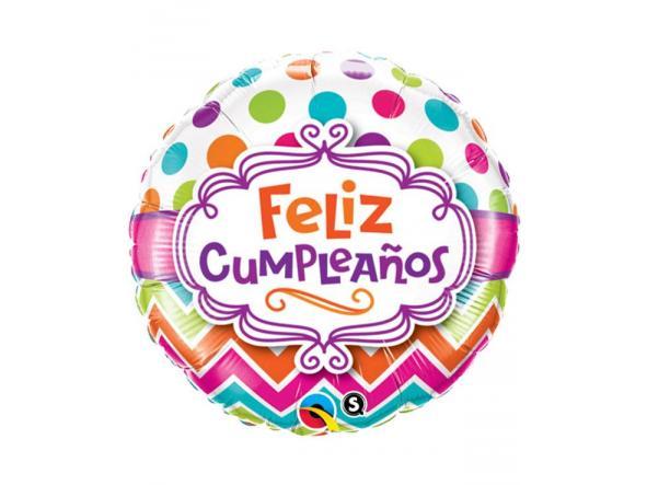 "Cumpleaños Chevron 18"""