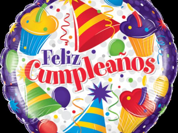 "18"" Cumpleaños Cupcakes"