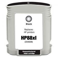 CARTUCHO GENERICO HP Nº88XL C9396A NEGRO 69ml.
