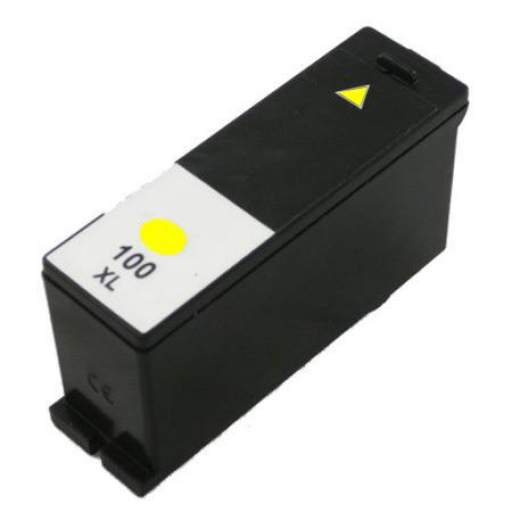 CARTUCHO GENERICO LEXMARK Nº100XL YELLOW 12,5ML.
