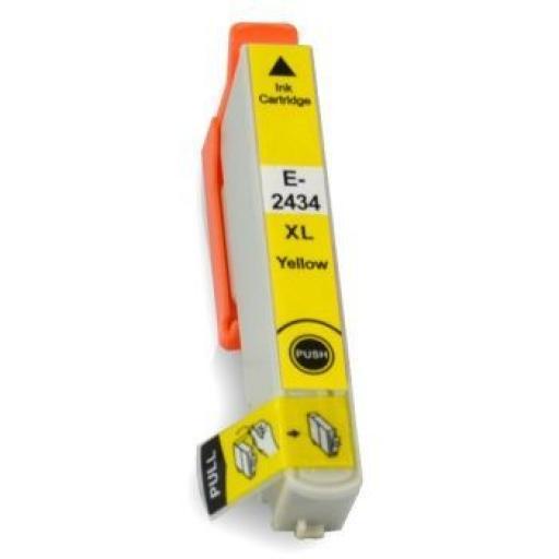 EPSON T2434 (24XL) AMARILLO CARTUCHO DE TINTA GENERICO C13T24344010
