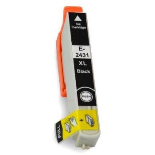 EPSON T2431 (24XL) NEGRO CARTUCHO DE TINTA GENERICO C13T24314010