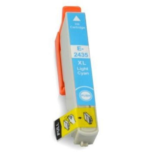 EPSON T2435 (24XL) CYAN LIGHT CARTUCHO DE TINTA GENERICO C13T24354010