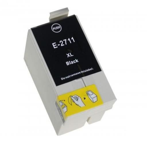 EPSON T2711 (27XL) NEGRO CARTUCHO DE TINTA GENERICO C13T27114010