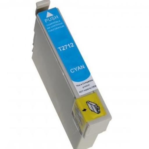 EPSON T2712 (27XL) CYAN CARTUCHO DE TINTA GENERICO C13T27124010