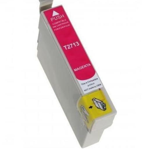 EPSON T2713 (27XL) MAGENTA CARTUCHO DE TINTA GENERICO C13T27134010