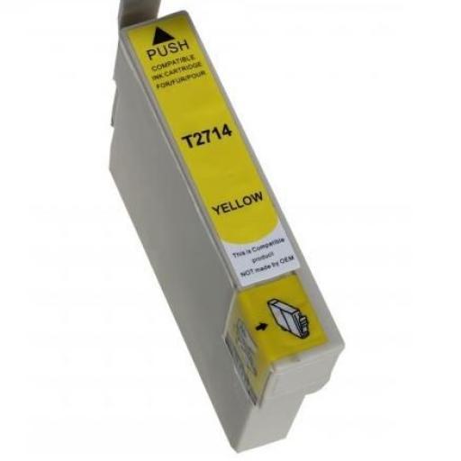 EPSON T2714 (27XL) AMARILLO CARTUCHO DE TINTA GENERICO C13T27144010