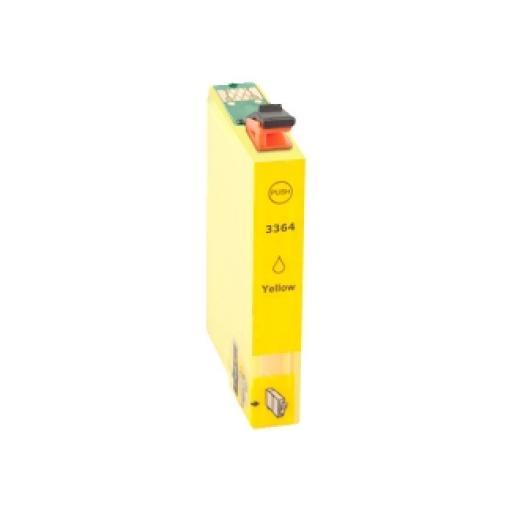 EPSON T3364/T3344 (33XL) AMARILLO CARTUCHO DE TINTA GENERICO C13T33644010/C13T33444010