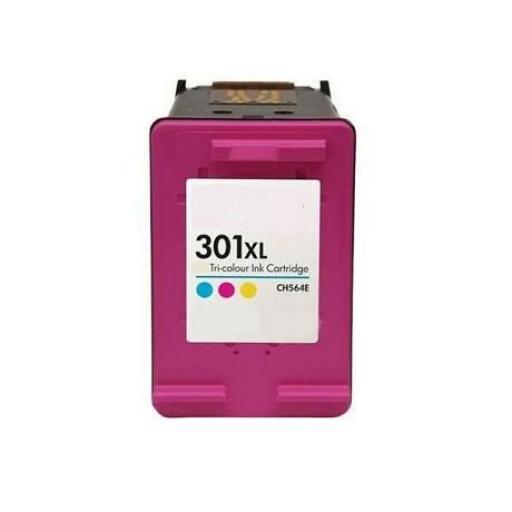 HP 301XL V3 TRICOLOR CARTUCHO DE TINTA REMANUFACTURADO CH564EE (VALIDO NUEVAS IMPRESORAS) [0]