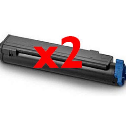PACK AHORRO TONER GENERICO OKI B410/B420/B430/B440/MB460L/MB470L/MB480L 3.500C. 2 UNIDADES.