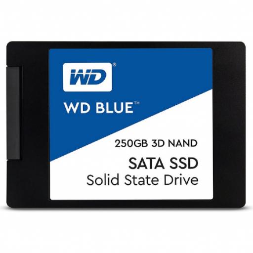 "Volver a página anterior INFORMATICA Discos Duros Discos Duros SSD WDS250G2B0A WD WDS250G2B0A Disco Duro Solido SSD 250GB 2.5"" SATA3 Blue 3D Nand"