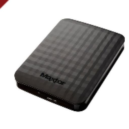 "Maxtor STSHX-M101TCBM Disco Duro Externo 2.5"" 1TB M3 USB 3.0"