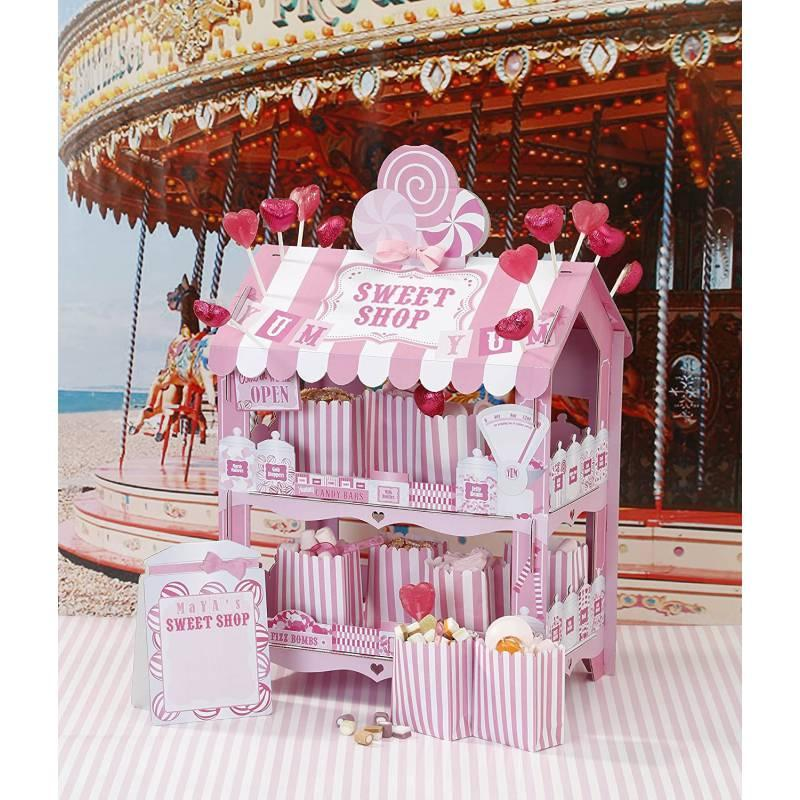 STAND DULCES ROSA