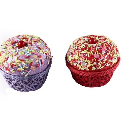 Cajita en forma de Cupcake  [1]